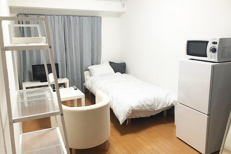 白を基調としたお部屋は、あなたをリラックスさせます。