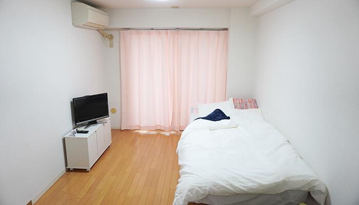 白を基調としたお部屋は、<br>あなたをリラックスさせます。